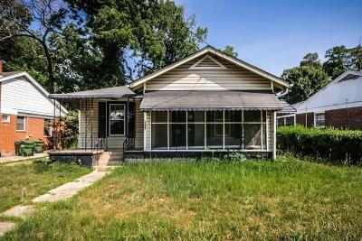 Single Family Home For Sale: 1600 Martin Luther King Jr Parks SW