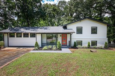 Atlanta Single Family Home For Sale: 1687 Bouldercliff Court SE