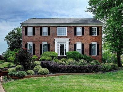 Marietta Single Family Home For Sale: 1502 Oakmoor Place