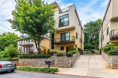 Atlanta Condo/Townhouse For Sale: 188 Ormond Street SW