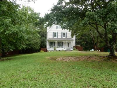 White Single Family Home For Sale: 17 Mountain Ridge Road NE