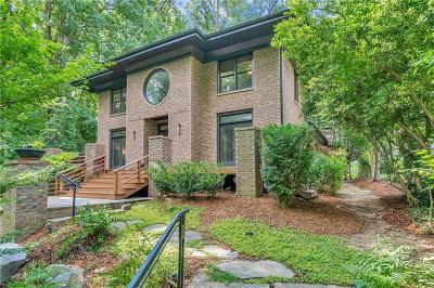 Alpharetta, Atlanta, Dunwoody, Johns Creek, Milton, Roswell, Sandy Springs Single Family Home For Sale: 781 Stovall Boulevard NE