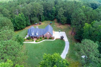 Monroe Single Family Home For Sale: 1542 Roscoe Davis Road SW