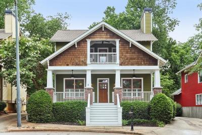 Atlanta Single Family Home For Sale: 225 Elvan Avenue