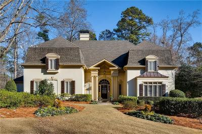 Johns Creek Single Family Home For Sale: 315 Mossy Pointe