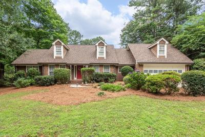 Atlanta Single Family Home For Sale: 3960 Pleasant Shade Drive