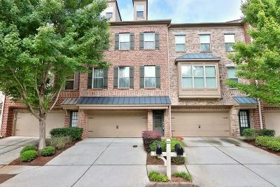 Suwanee Condo/Townhouse For Sale: 274 Blue Pointe Court