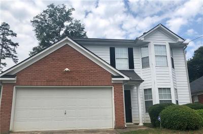 Lithonia Single Family Home For Sale: 3659 Walnut Creek Way