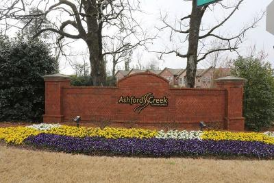 Brookhaven Condo/Townhouse For Sale: 3705 Ashford Creek Hill NE