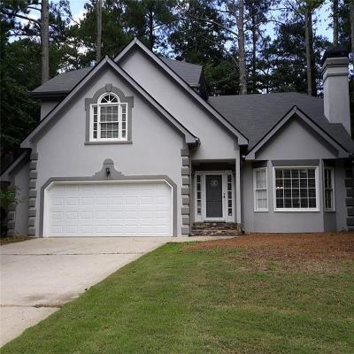 Powder Springs Single Family Home For Sale: 3379 Stone Path Way