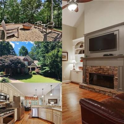 Cumming Single Family Home For Sale: 6930 Silver Fox Trail