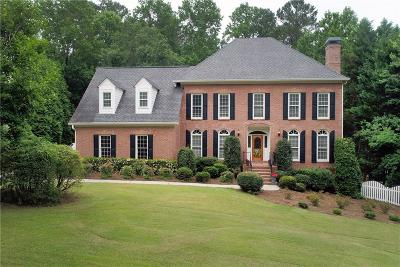 Roswell Single Family Home For Sale: 235 Plantation Way