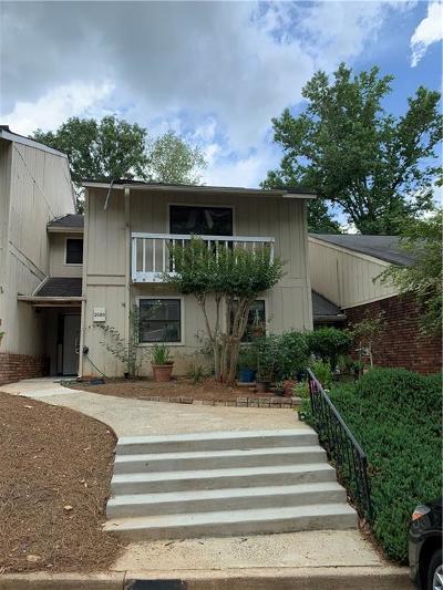 Marietta Condo/Townhouse For Sale: 2589 Stoney Creek Road SE