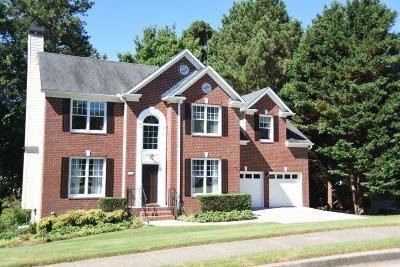 Suwanee Single Family Home For Sale: 4304 Yosemite Court