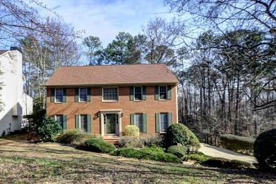 Marietta Single Family Home For Sale: 491 Guilford Circle NE