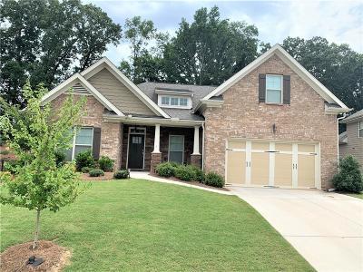 Braselton Single Family Home For Sale: 439 Butterfly Lane