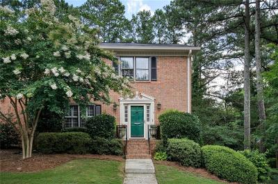 Atlanta Condo/Townhouse For Sale: 4101 Dunwoody Club Drive #42