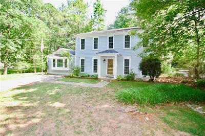 Marietta Single Family Home For Sale: 2956 Sope Creek Drive