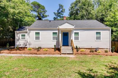Decatur GA Single Family Home For Sale: $250,000