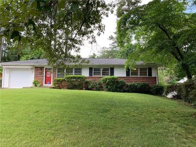 Chamblee Single Family Home For Sale: 3035 Stratford Arms Drive