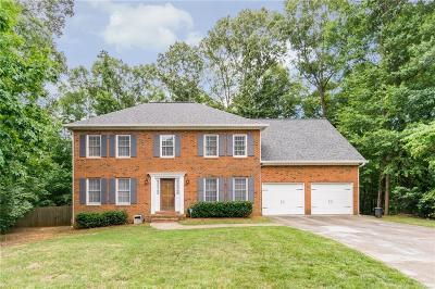 Marietta Single Family Home For Sale: 3884 Tanbark Court NE