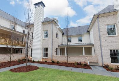 Roswell Condo/Townhouse For Sale: 430 Clover Court #6