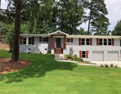 Atlanta Single Family Home For Sale: 1463 Sagamore Drive NE