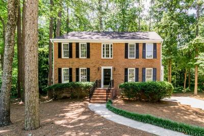 Marietta Single Family Home For Sale: 3926 Brintons Mill