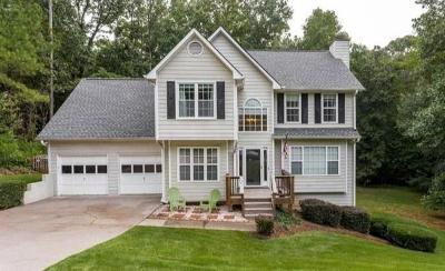 Acworth Single Family Home For Sale: 16 Miners Point SE