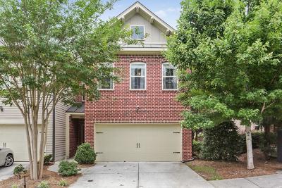 Smyrna Condo/Townhouse For Sale: 2263 W Village Lane SE