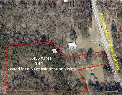 Woodstock Residential Lots & Land For Sale: 8058 Hickory Flat Tract 1 Highway