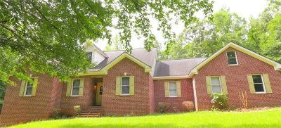 Covington Single Family Home For Sale: 2399 Oak Hill Road