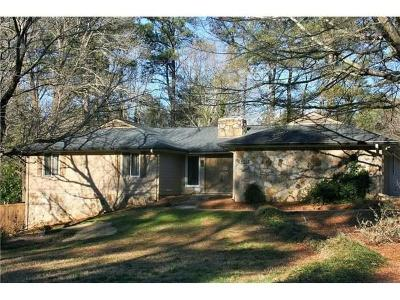 Roswell Single Family Home For Sale: 335 Chaffin Road