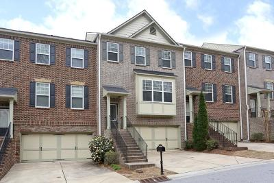 Brookhaven Condo/Townhouse For Sale: 3747 Inglewood Way NE