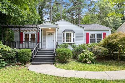 Atlanta Single Family Home For Sale: 1325 Arnold Avenue NE
