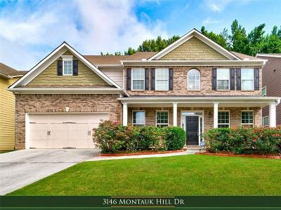 Barrow County, Forsyth County, Gwinnett County, Hall County, Newton County, Walton County Single Family Home For Sale: 3146 Montauk Hill Drive