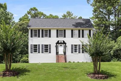 Marietta Single Family Home For Sale: 2633 Forest Way NE