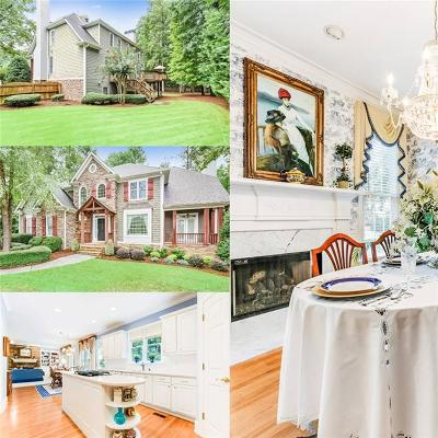 Suwanee Single Family Home For Sale: 5105 Winding Rose Drive