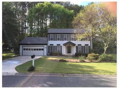 Marietta Single Family Home For Sale: 2187 Heritage Trace Drive