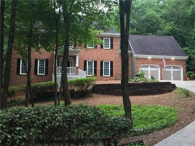 Marietta Single Family Home For Sale: 3548 Jefferson Township Parkway