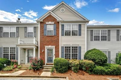 Alpharetta Condo/Townhouse For Sale: 2701 Ashleigh Lane