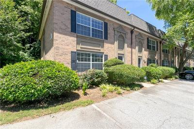 Atlanta Condo/Townhouse For Sale: 6980 Roswell Road #H1