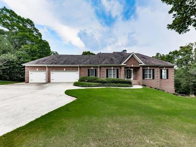 White Single Family Home For Sale: 120 Sutallee Ridge Lane NE