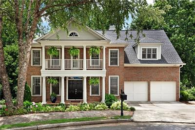 Roswell Single Family Home For Sale: 1620 Heritage Trail