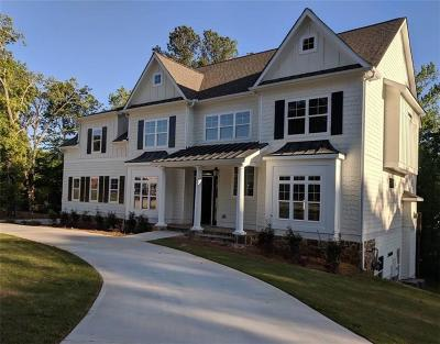 Roswell Single Family Home For Sale: 965 Upper Hembree Road
