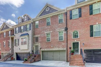 Brookhaven Condo/Townhouse For Sale: 1526 Donaldson Park Drive NE