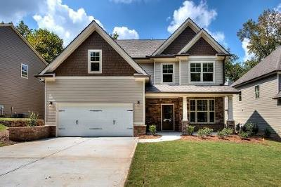 Cartersville Single Family Home For Sale: 10 Berryhill Place SE
