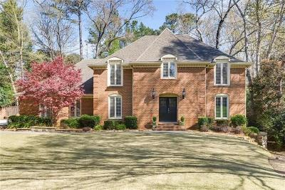Dunwoody Single Family Home For Sale: 1752 Ball Mill Court