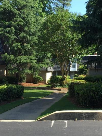 Sandy Springs Condo/Townhouse For Sale: 5425 Chemin De Vie