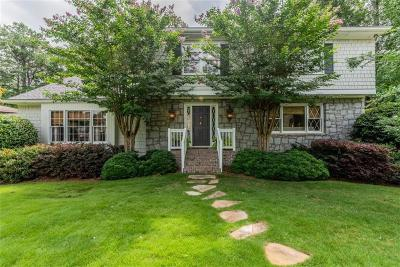 Dunwoody Single Family Home For Sale: 5187 Mount Vernon Way